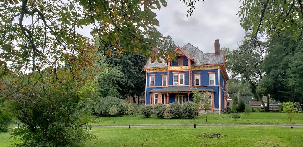 Corning, NY - Historic Homes W 2nd St and Walnut St