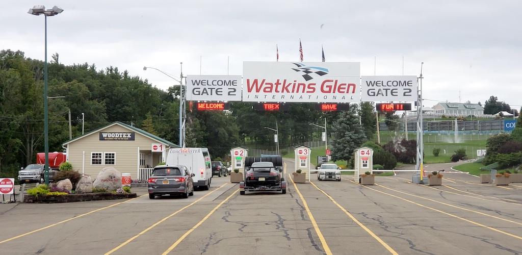 Corning, NY - Watkins Glen Raceway Entrance Gate 2