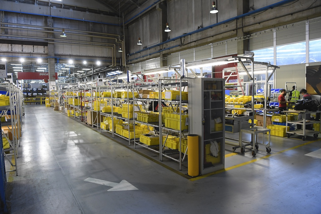 Ducati Museum and Factory Tour Parts - courtesy of Ducati