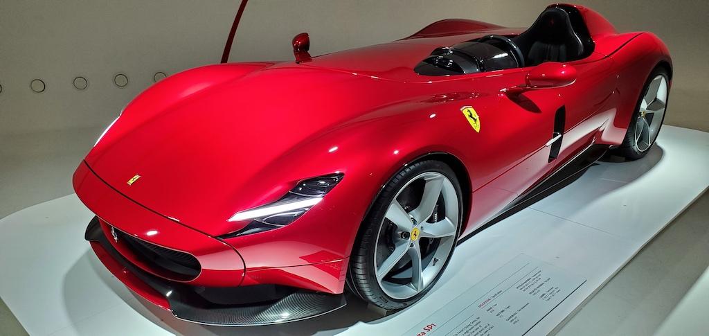 Enzo Ferrari Museum Ferrari SP1