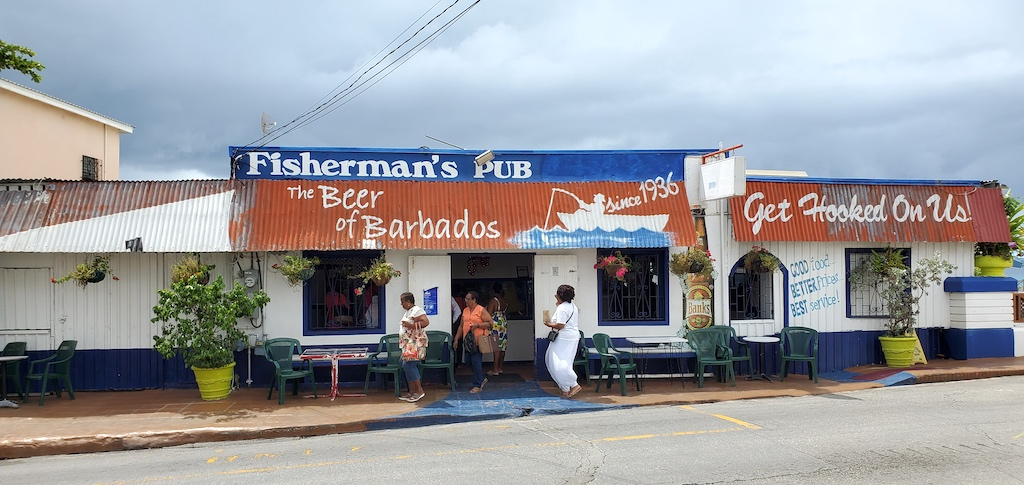 Fisherman's Pub in Speightstown, Barbados