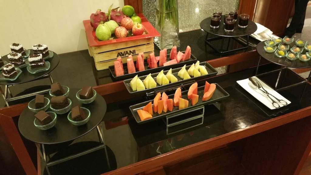 Fruit Bar in the Executive Lounge at the Avani ATRIUM Bangkok