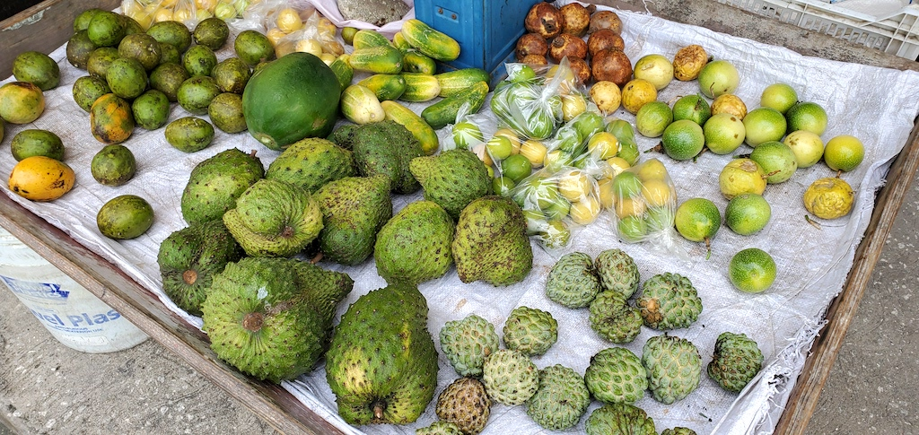Fruits at Speightstown Market in Barbados