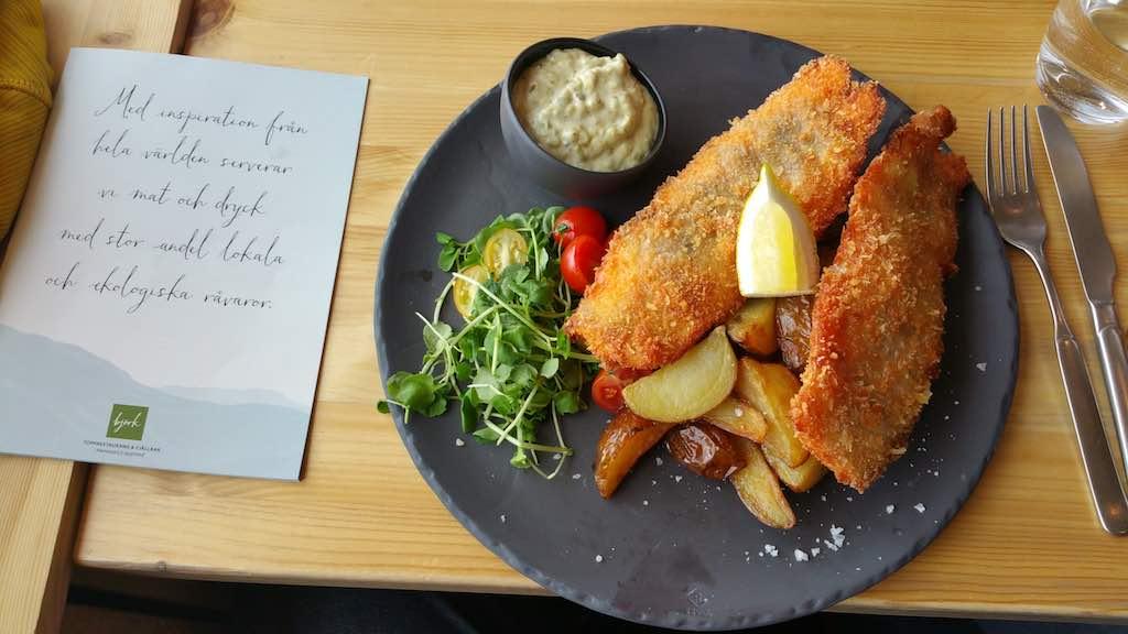 Hemavan Tarnaby - Hemavan Tarnaby - Hemavan Tarnaby - Mountain Restaurant Björk our main Meal