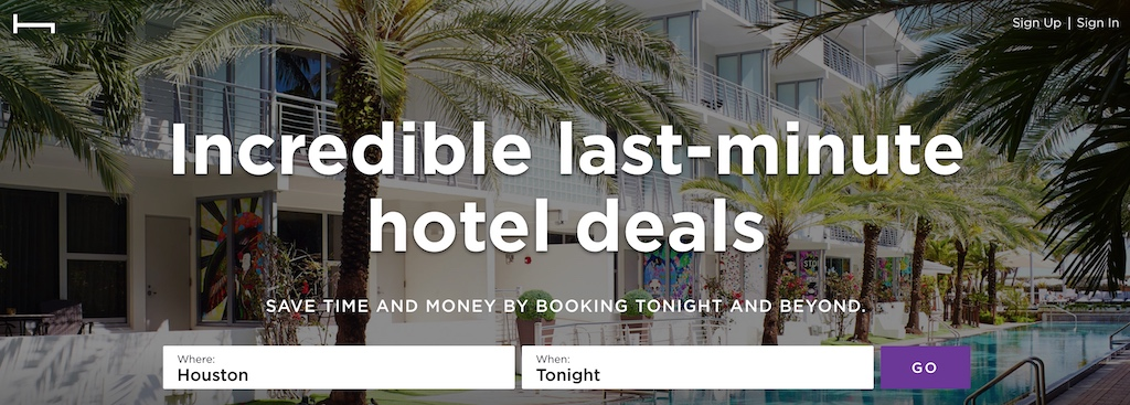 Hotel Tonight Cyber Monday 2019 Deals