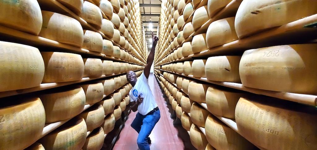 Hombre Farms in Modena - Parmigiano Reggiano