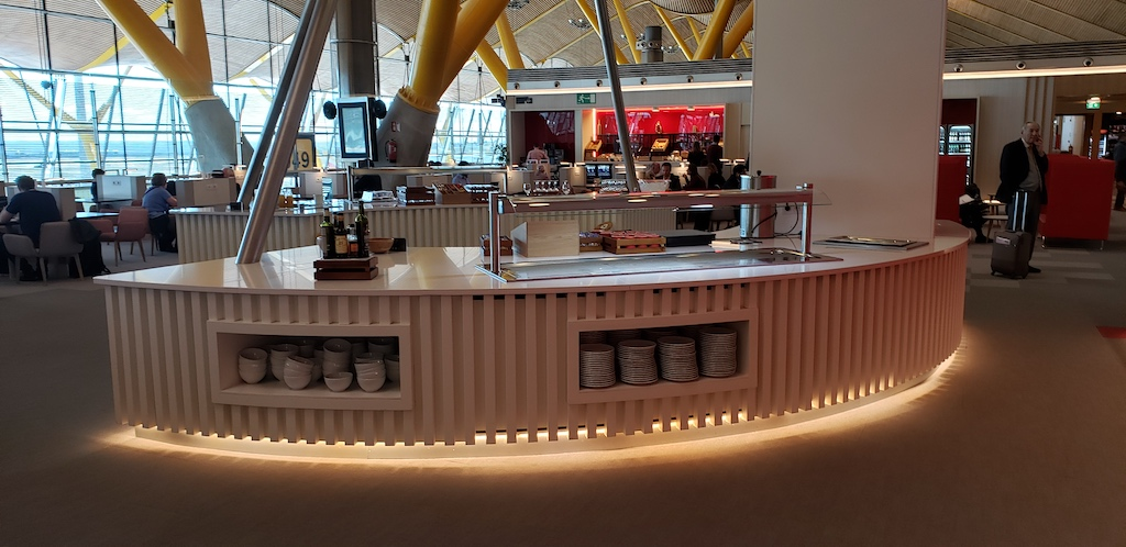 Iberia Lounge in Madrid-Barajas (MAD)