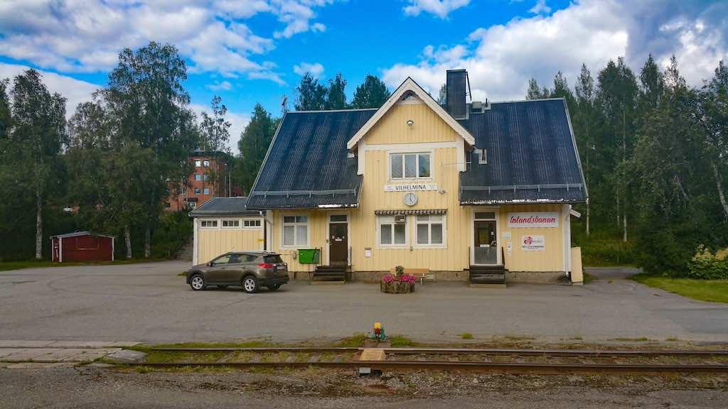 Inlansbanan-Vilhelmina Station