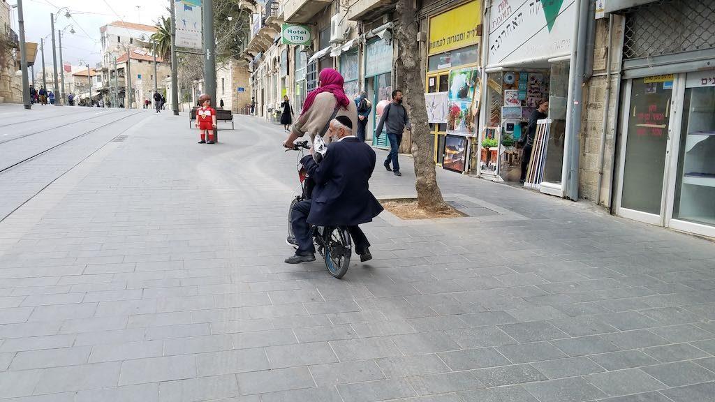Jerusalem, Israel - Bike