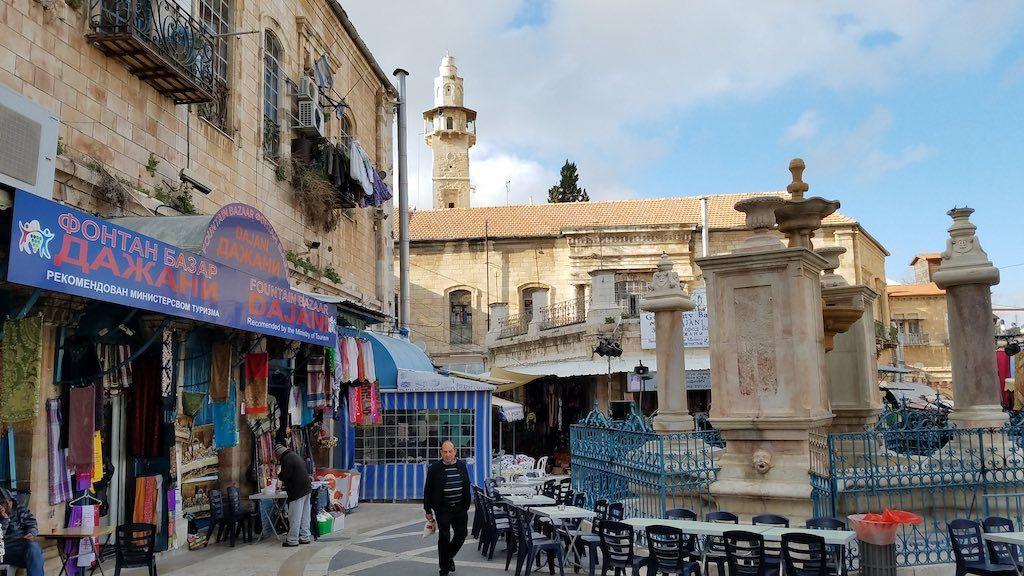 Jerusalem, Israel - Old City Muslim Quarter
