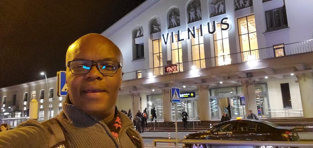 Kerwin in Vilnius, Lithuania