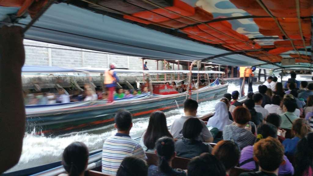 Khlong Boat Ride Bangkok, Thailand