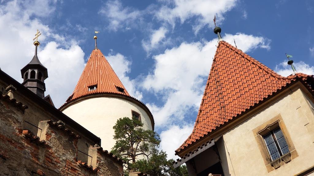 Křivoklát Castle - Castle Towers