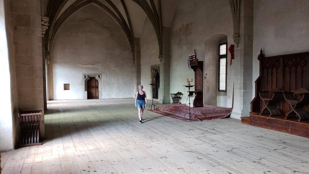 Křivoklát Castle - Castle Great Room