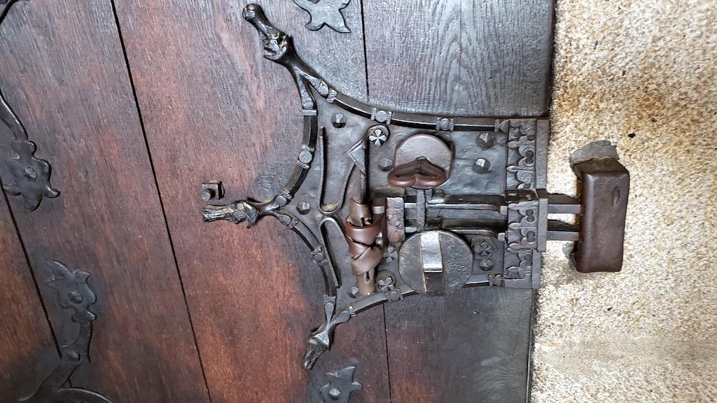 Křivoklát Castle - Intricate Door Locks