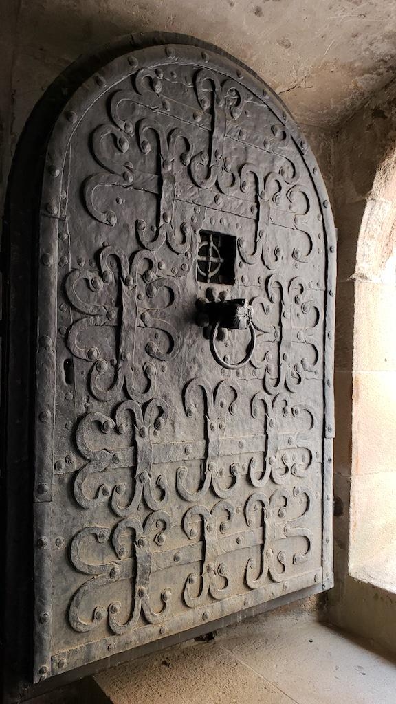 Křivoklát Castle - Castle Medieval prison door