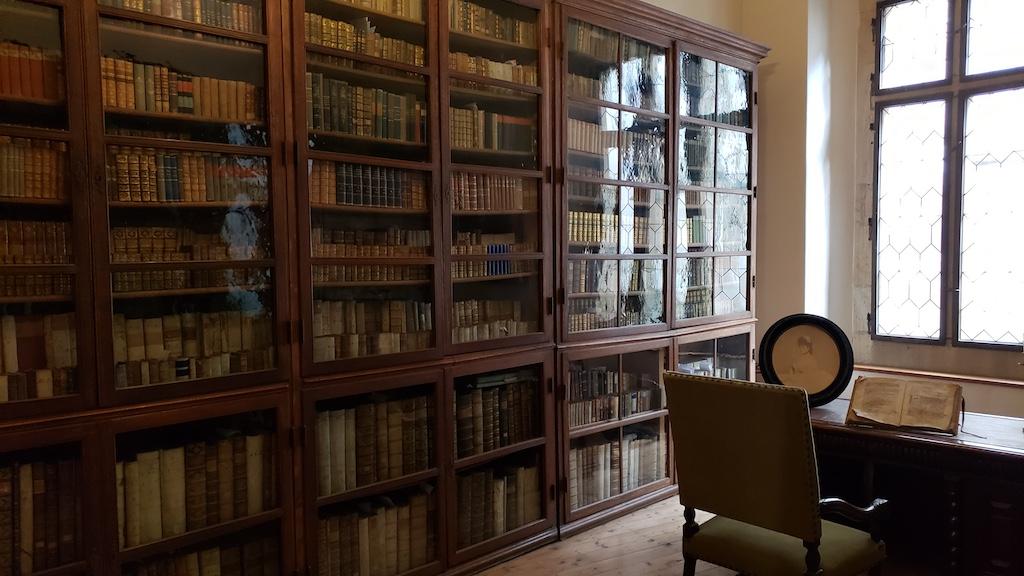 Křivoklát Castle - The Library