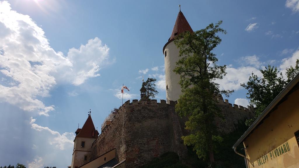 Křivoklát Castle - Castle Tower View
