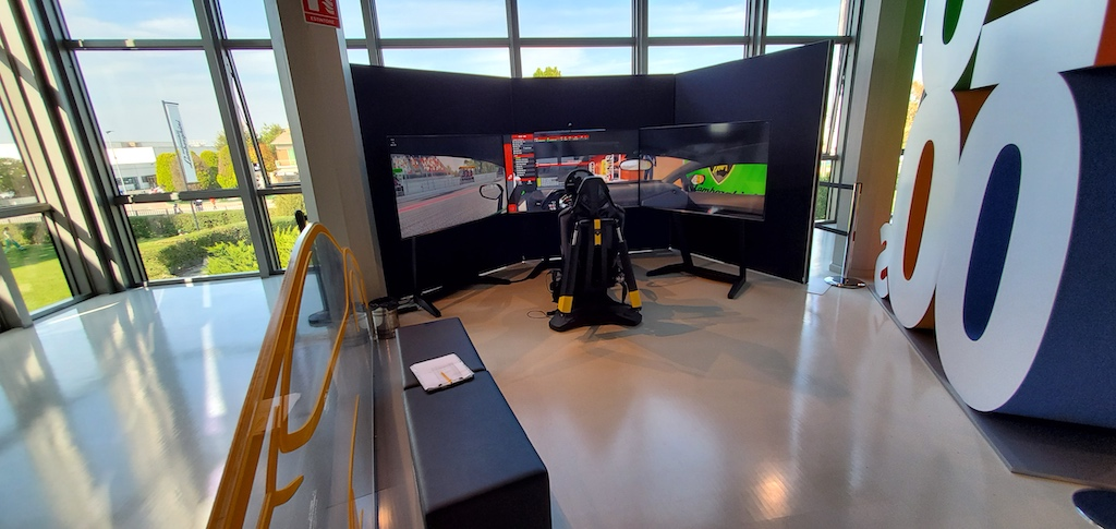 Lamborghini Factory Tour and Museum - Race Simulator