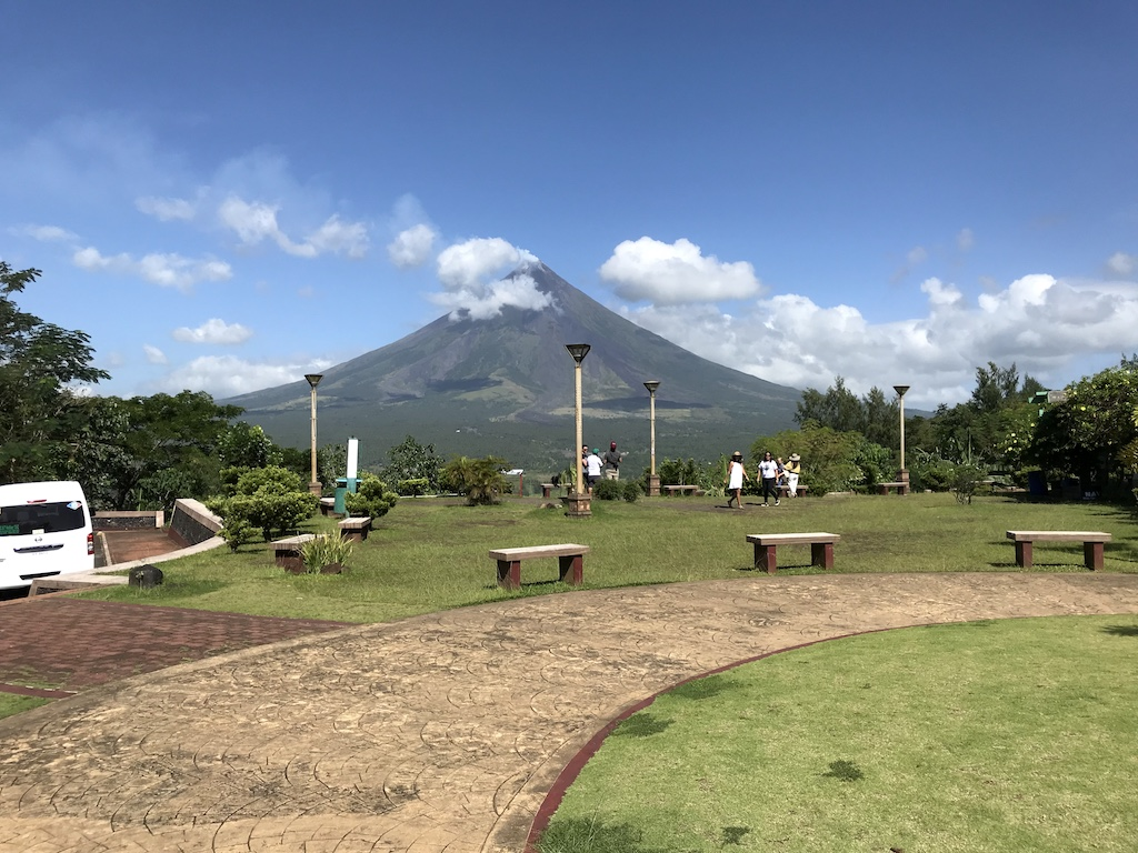 Legazpi, Albay, Philippines - Mount Mayon view from Lignon Hill