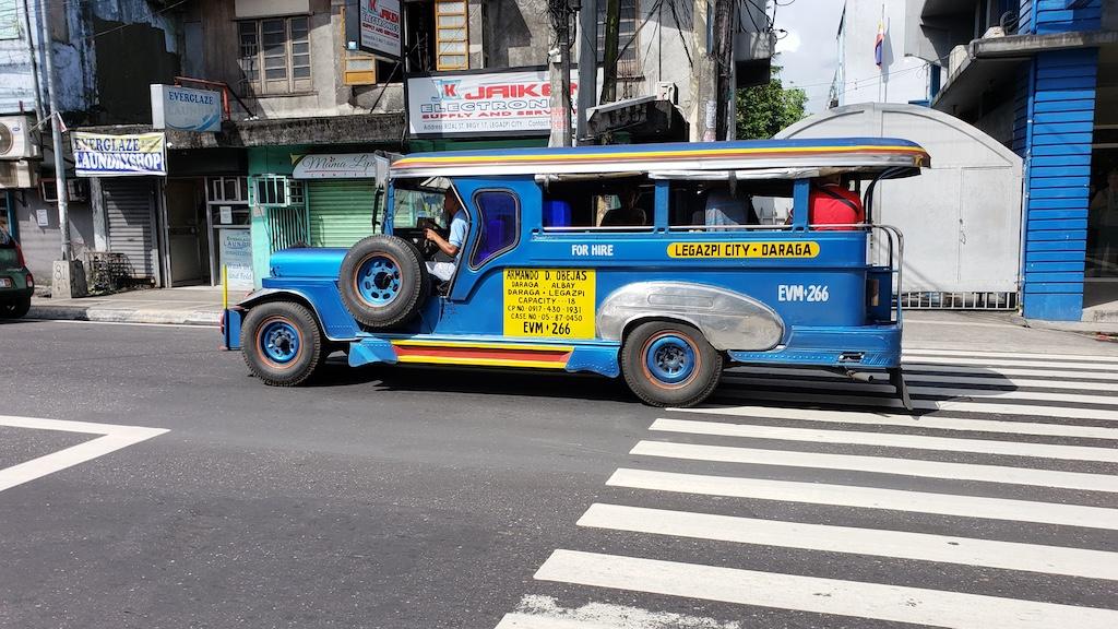 Legazpi, Albay, Philippines - Jeepneys Legazpi to Daraga
