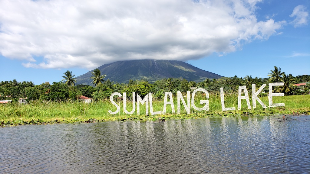 Legazpi, Albay, Philippines - Sumlang Lake Mount Mayon