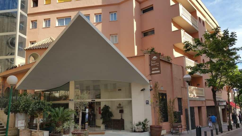 Lloret de Mar, Spain - Hotel Alba Seleqtta
