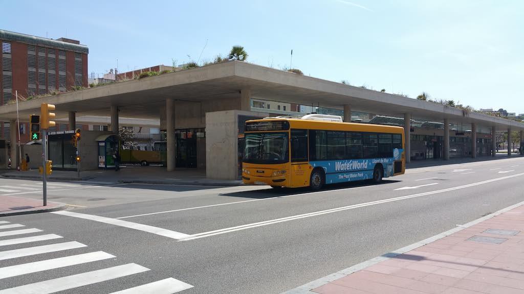 Lloret de Mar Bus Terminal