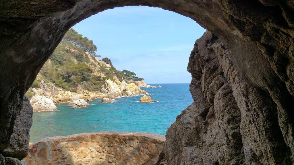 Lloret de Mar, Spain - Cliffs of Lloret