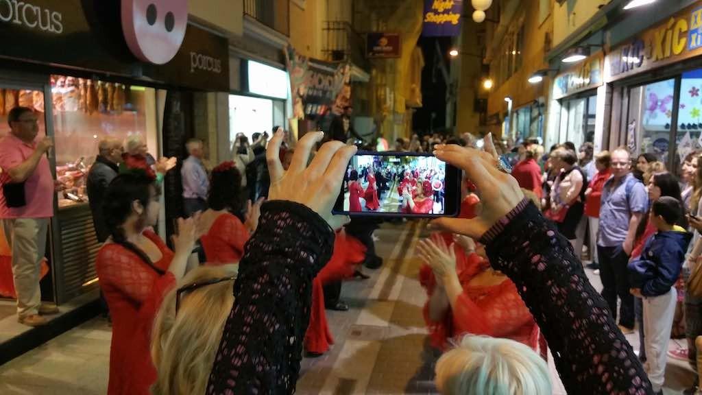 Lloret de Mar, Spain - Local Dancers