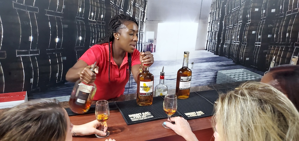 Mount Gay Visitor Center Tasting Barbados