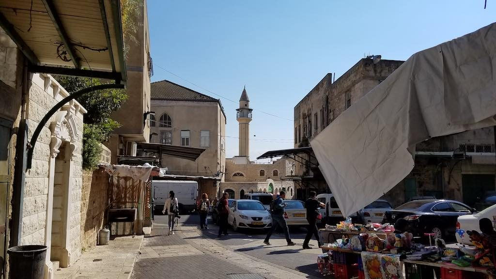 Nazareth, Israel - The White Mosque