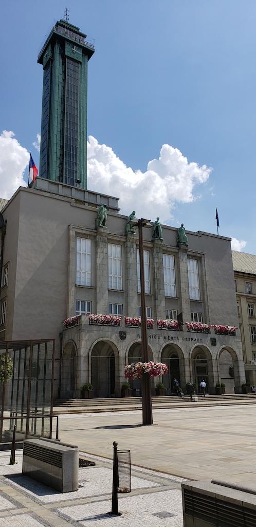 Ostrava, Czech Republic - Ostrava City Hall