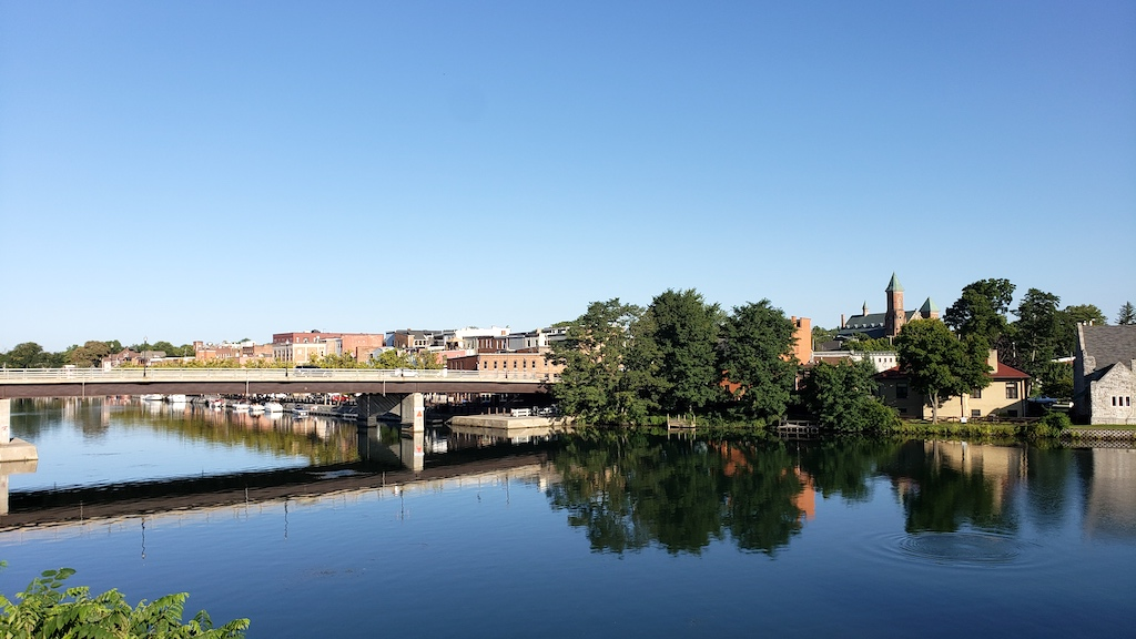 Ovid Street Bridge, Seneca Falls, NY USA