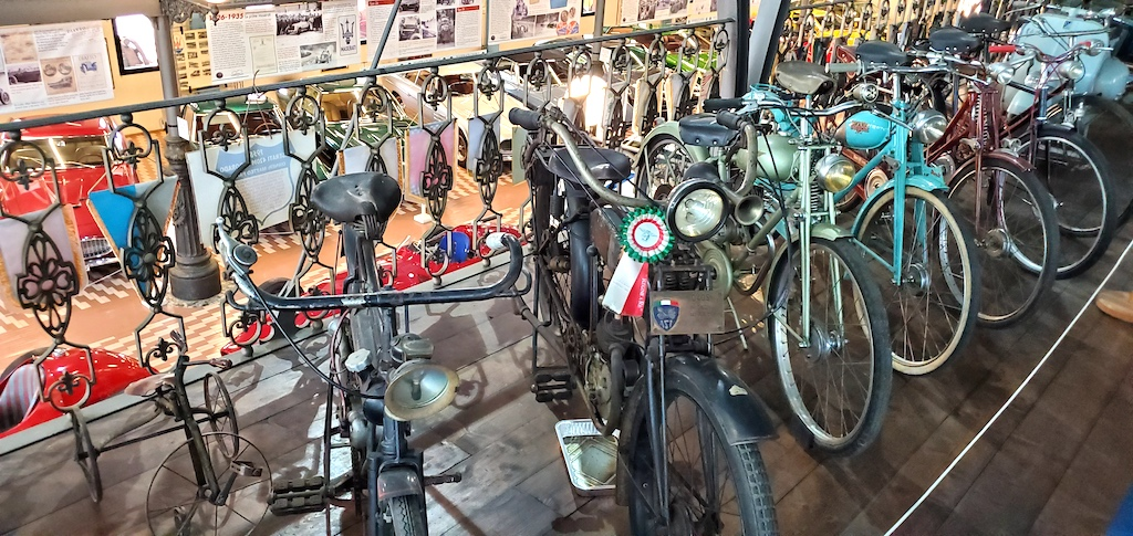 Panini Motor Museum - Bicycles