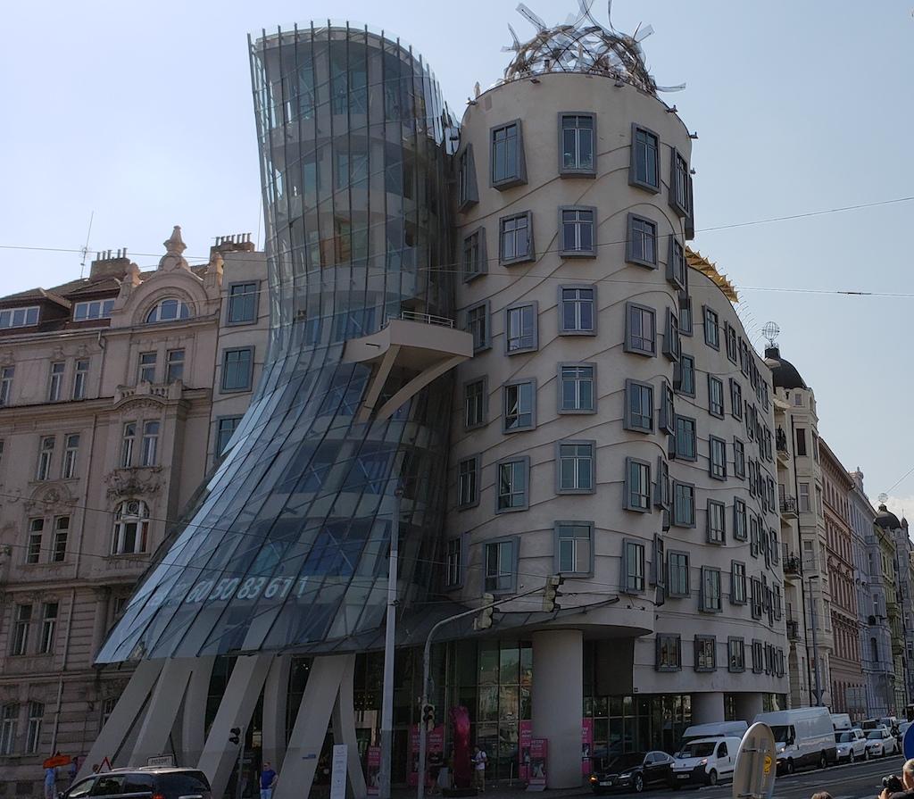 Prague, Czech Republic - Dancing Building