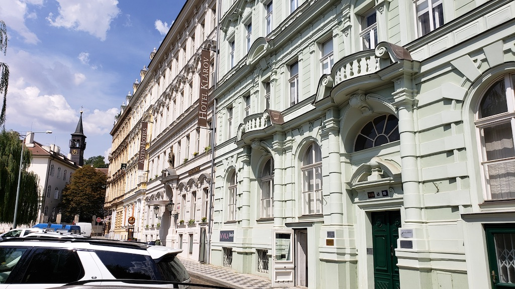 Prague, Czech Republic - Hotel Klarov