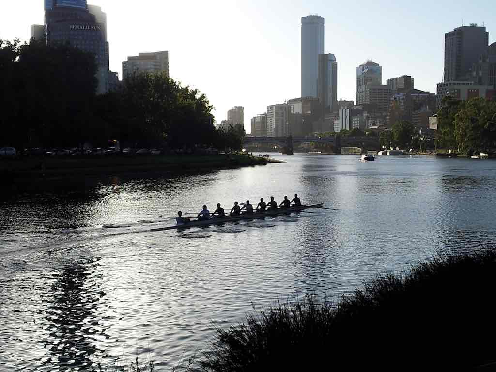 Rowing in Melbourne, Vic Australia