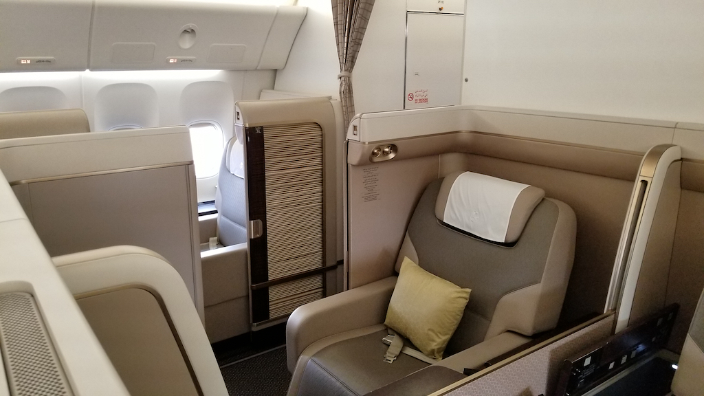 Saudia First Class Suites JFK to JED