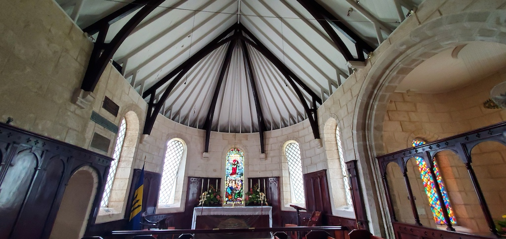 St. James Parish Church - Altar in Barbados
