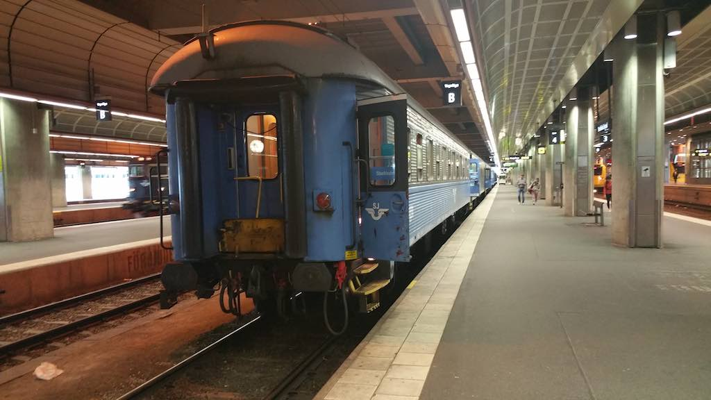 Hemavan/Tarnaby - Swedish Rail in Stockholm