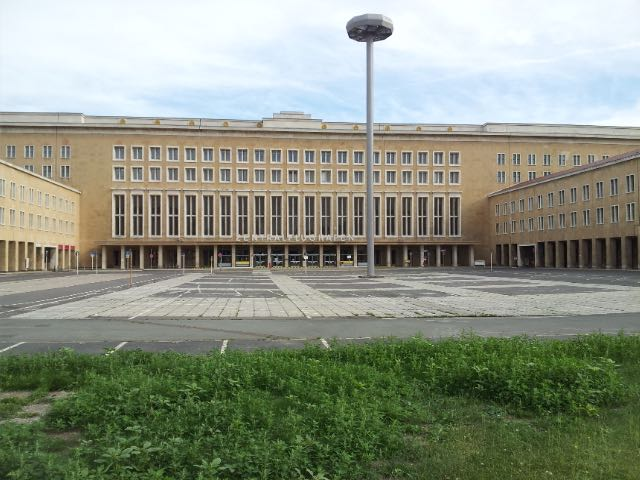 Entrance to Berlin-Tempelhof Airport (THF)