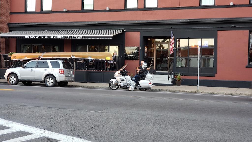 The Gould Hotel Restaurant and Tavern Seneca Falls, NY USA