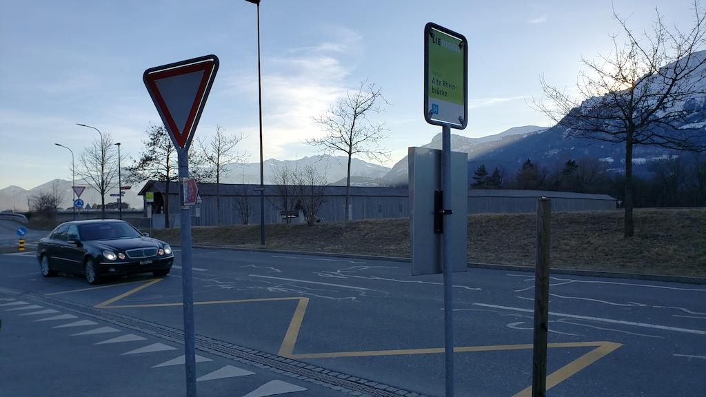 Vaduz, Liechtenstein - Alte Rheinbrücke
