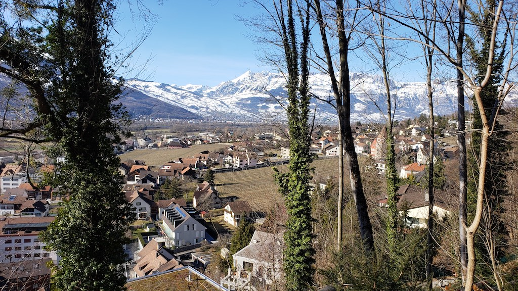 Vaduz, Liechtenstein - City view