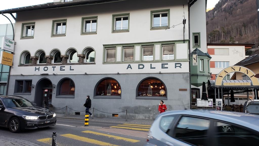 Vaduz, Liechtenstein - Hotel Adler