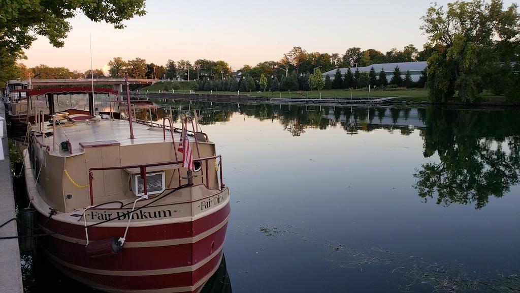 Van Cleef Lake, Seneca Falls, NY USA