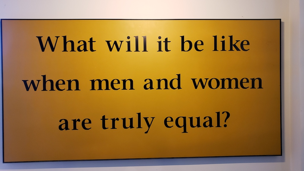 What Will It Be Like When Men and Women Are Truly Equal, Seneca Falls, NY USA