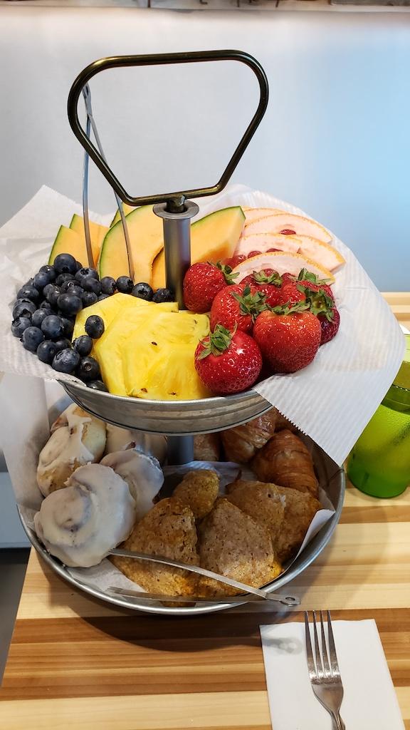 XIX Cafe Fruits Seneca Falls, NY USA