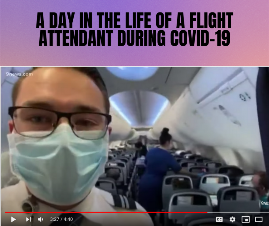 A Day In The Life Of A United Flight Attendant
